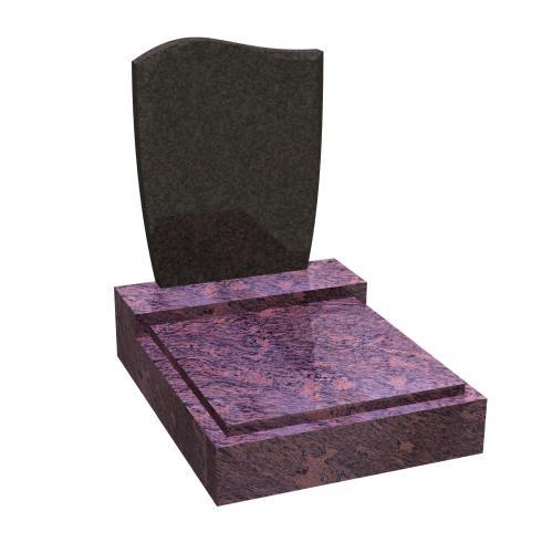 Urnový hrob na zakázku RossoVenato 043 Impala
