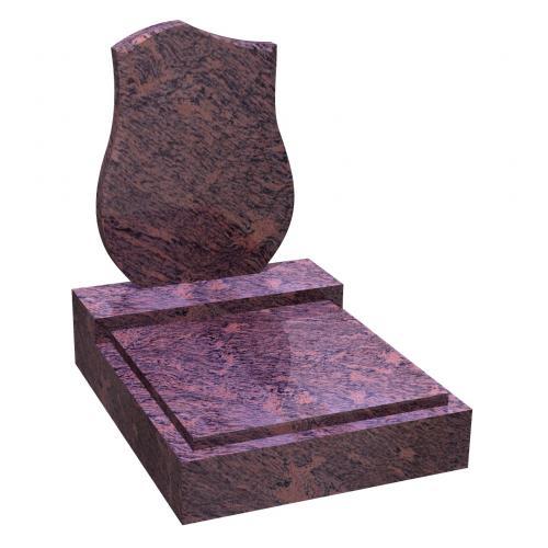 Urnový hrob na zakázku RossoVenato 056 RossoVenato