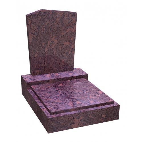 Urnový hrob na zakázku RossoVenato úkos RossoVenato