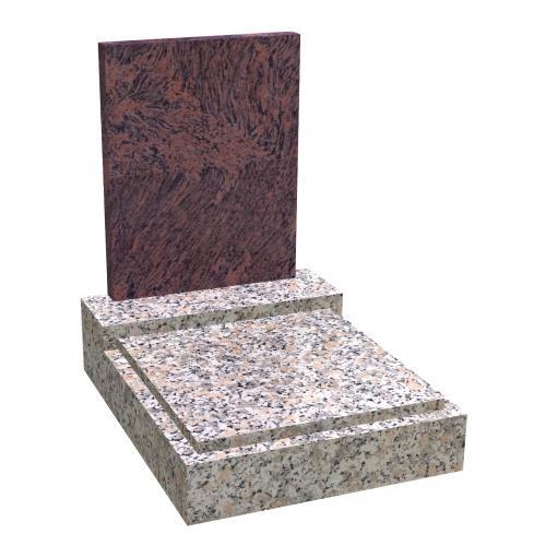 Urnový hrob na zakázku Rosa Beta 041 Rosso Venato