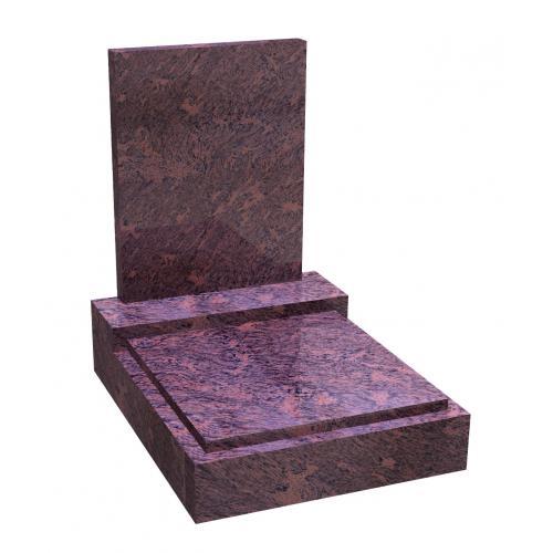 Urnový hrob na zakázku RossoVenato 041 RossoVenato