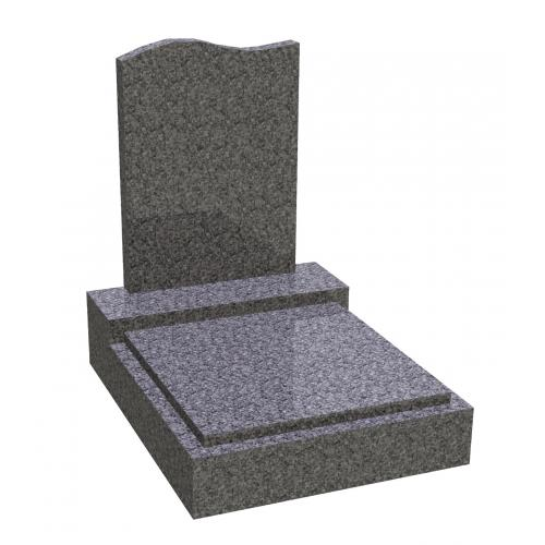 Urnový hrob na zakázku CrystalBlack 042 CrystalBlack