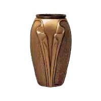 Hřbitovní váza Cv01 bronzová