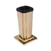 Hřbitovní váza A02a1 zlatá