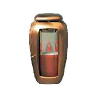 Hřbitovní lucerna CI01 bronzová