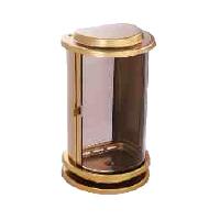 Hřbitovní lucerna A01e1 zlatá